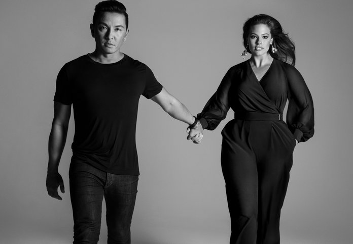 برابال Gurung x Lane Bryant Campaign with Ashley Graham