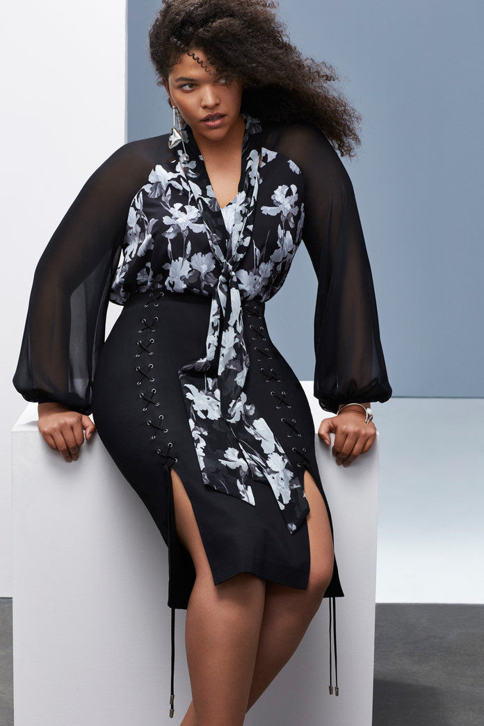 برابال Gurung x Lane Bryant Look 7