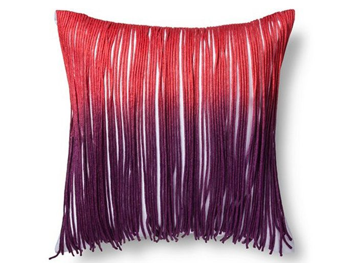 За the Coachella Lover: Boho Boutique Indie Fringe Pillow