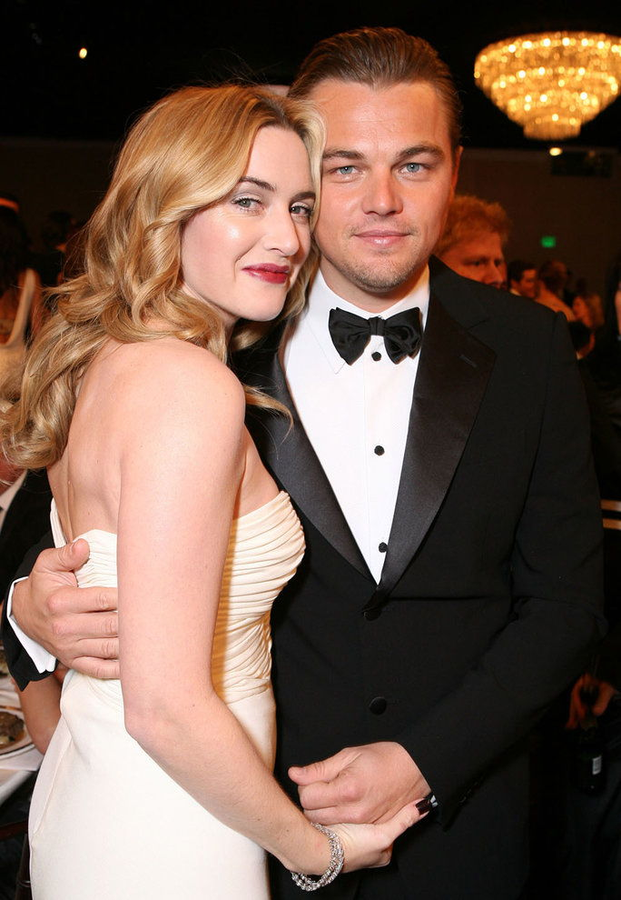 Кате and Leo at the 2007 Golden Globes