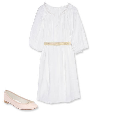 Целест Belted Cotton-Gauze Dress, Étoile Isabel Marant
