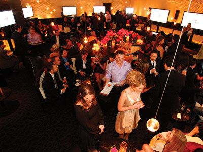 2008 Academy Awards, In Style Oscars Viewing Party, The Scene