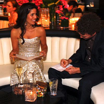 آنا Ortiz in Angel Sanchez, 2008 Academy Awards, In Style Oscar Viewing Party