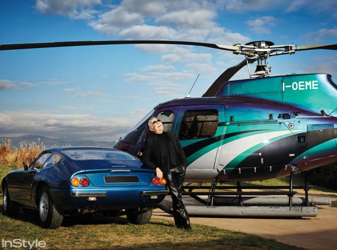 Роберто's Helicopter and Ferrari - Cavalli Home Tour