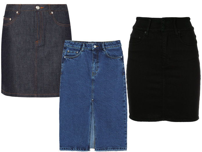 ال New Denim Skirts
