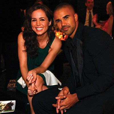 إليزا Dushku in Rami Kashou, Shemar Moore, 2008 Academy Awards, In Style Oscar Viewing Party