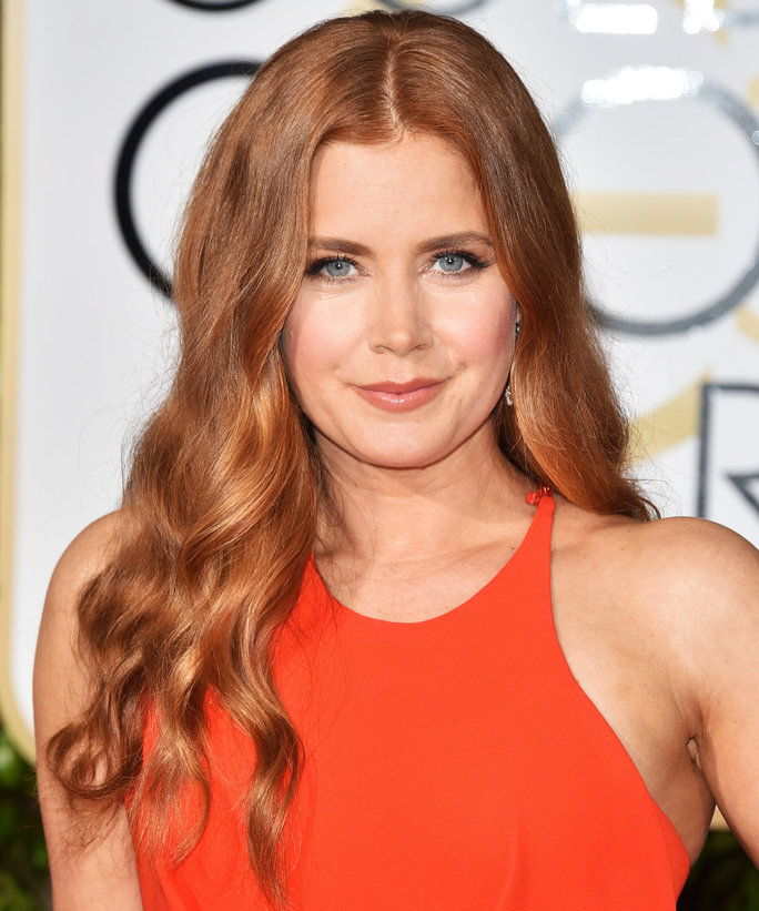 2016 Golden Globes Amy Adams Beauty Lead