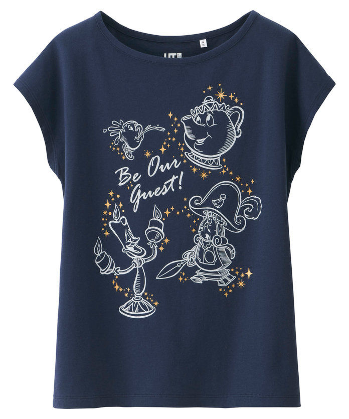 Девојке Disney Beauty and the Beast Graphic Tee