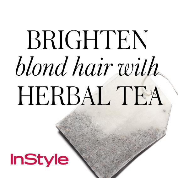 20 Timeless Hair Tips - Brighten Blond Hair with Herbal Tea