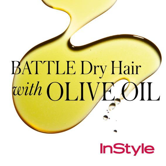 20 Timeless Hair Tips - Battle Dry Hair with Olive Oil