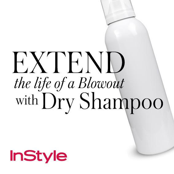 20 Timeless Hair Tips - Extend the Life of a Blowout with Dry Shampoo
