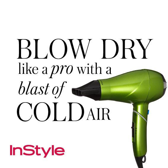 20 Timeless Hair Tips - Blow-Dry Like a Pro with a Blast of Cold Air