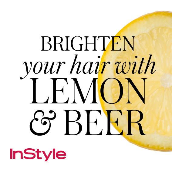 20 Timeless Hair Tips - Brighten Your Hair with Lemon and Beer