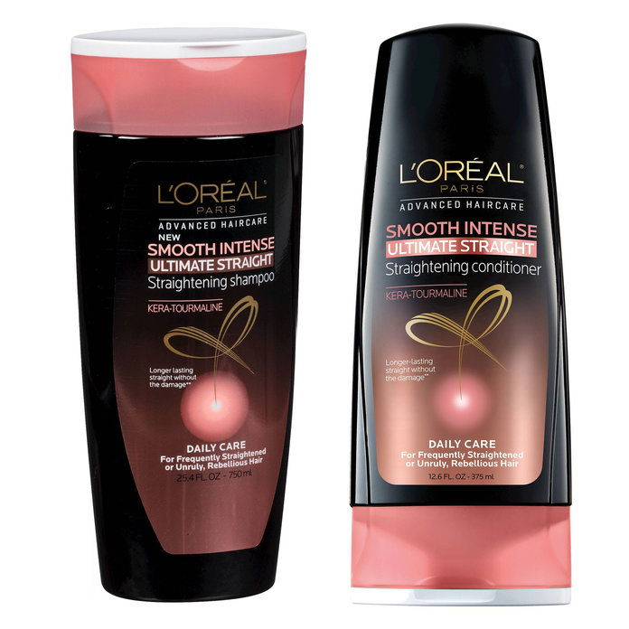 L'Oreal Paris Advanced Haircare Smooth Intense Ultimate Straight Shampoo & Conditioner