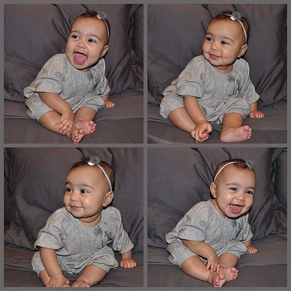 كيم Kardashian's North West