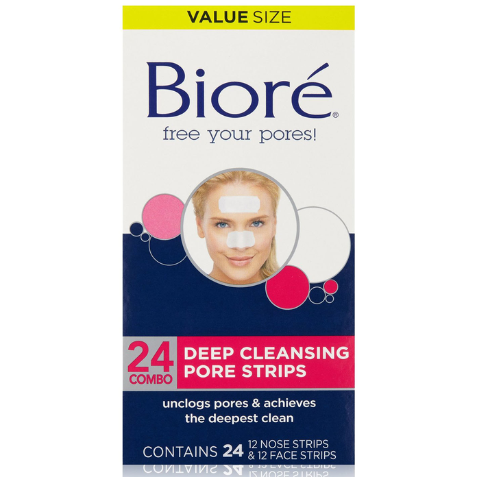 Биоре Deep Cleansing Pore Strips Combo Pack