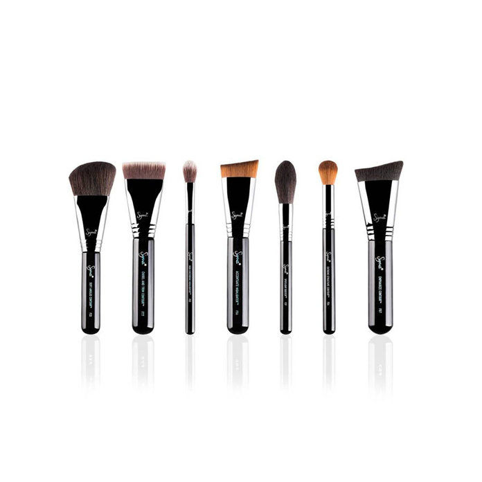 Сигма Beauty Complete Highlight & Contour Luxe Brush Kit