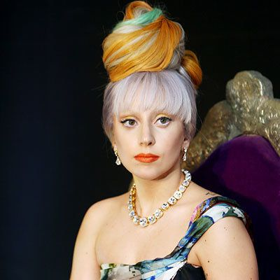 дама Gaga - Transformation - Hair - Celebrity Before and After