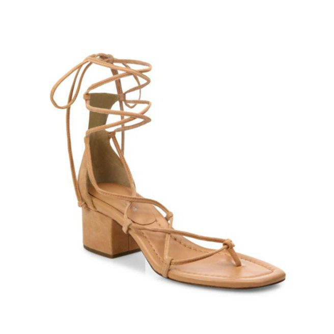 Мицхаел Kors Lace-Up Block Heels