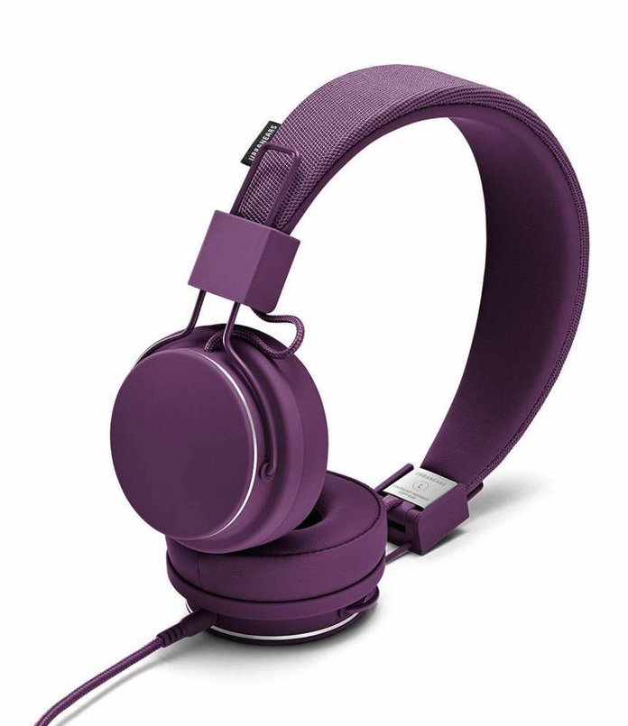 أرجواني headphones