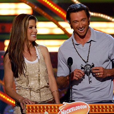 ساندرا Bullock, Hugh Jackman, 2009 Kids Choice Awards, Los Angeles