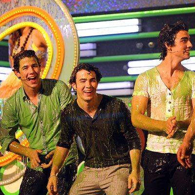نيك، Joe and Kevin Jonas, 2009 Kids Choice Awards, Los Angeles