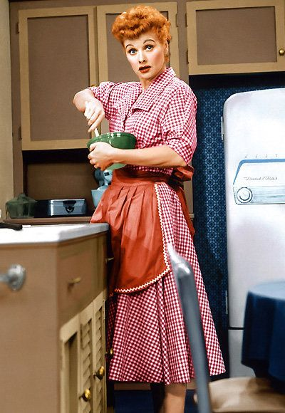 لوسيل Ball - The Most Fashionable TV Housewives - I Love Lucy