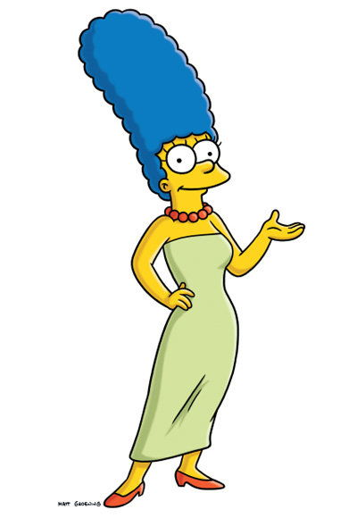 زبدة نباتية Simpson - The Most Fashionable TV Housewives - The Simpsons