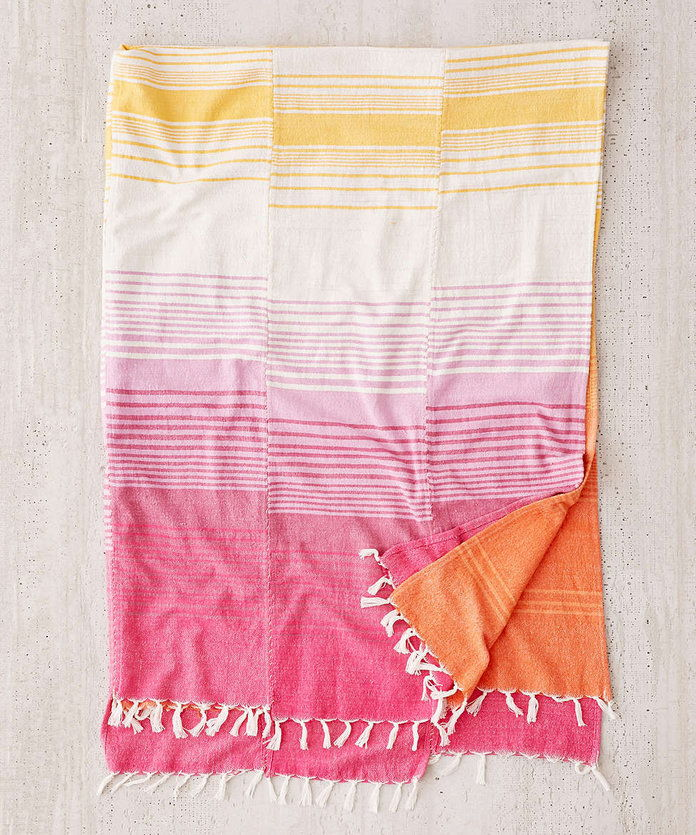 Пиецед Stripe Throw Blanket