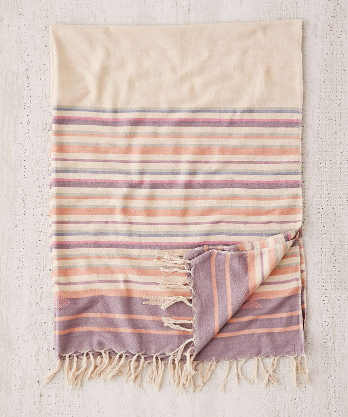 Мориах Stripe Throw Blanket