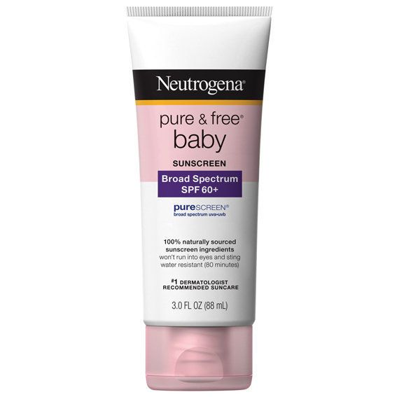 Неутрогена Pure and Free Baby Sunscreen