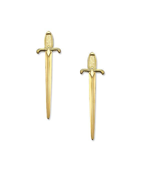 А.В. Max Sword Earrings