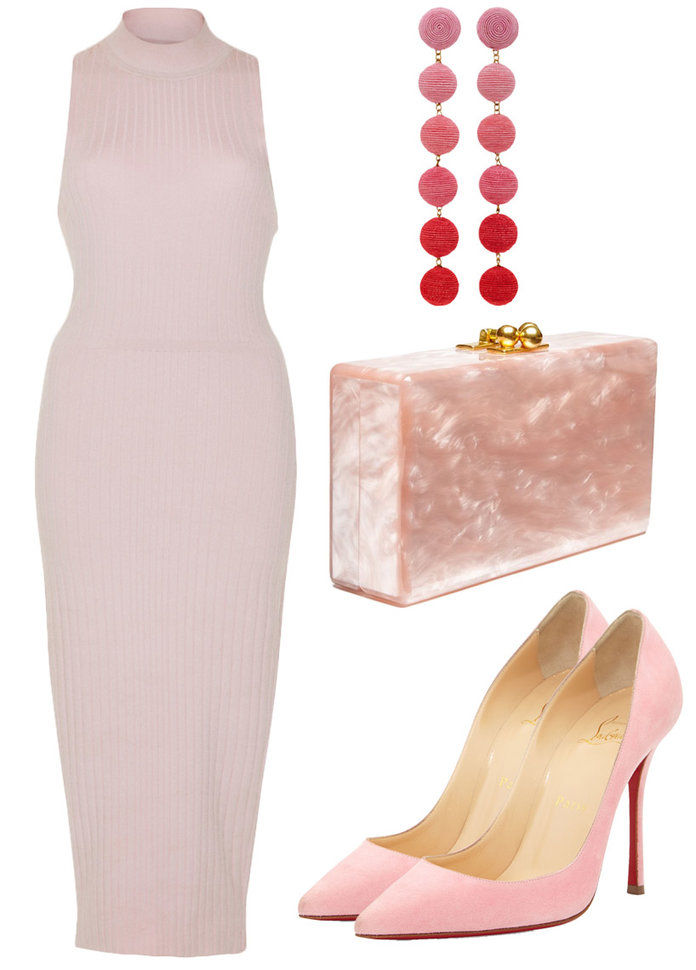 Ставити on your best Bodycon and paint the town pink.