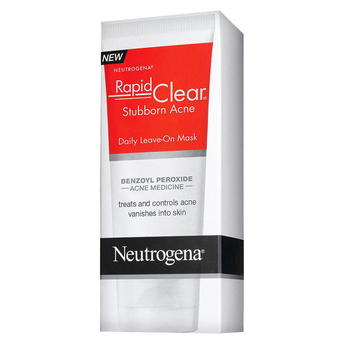 Неутрогена Rapid Clear Stubborn Acne Daily Leave-On Mask
