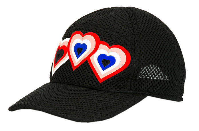 Фенди Heart Patch Cap
