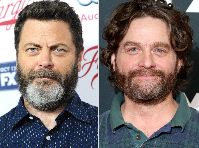 Ницк Offerman & Zach Galifianakis