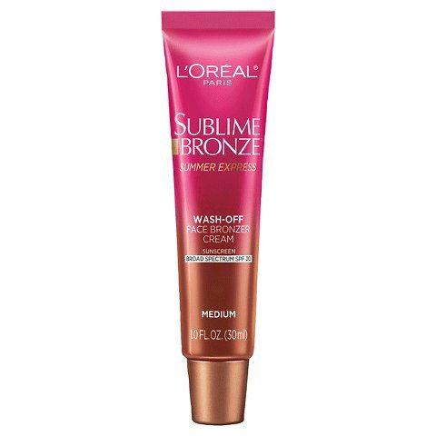 Л'Oreal Paris Sublime Bronze Summer Express Wash Off Face Bronzer Cream