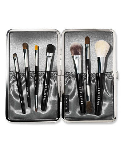 بوبى Brown Luxe Brush Set