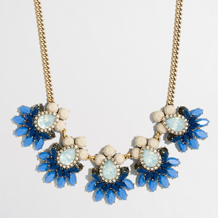 J. Crew Stacked Stones Necklace