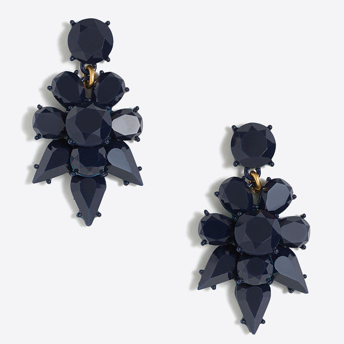 J. Crew Opaque Statement Dangle Earrings