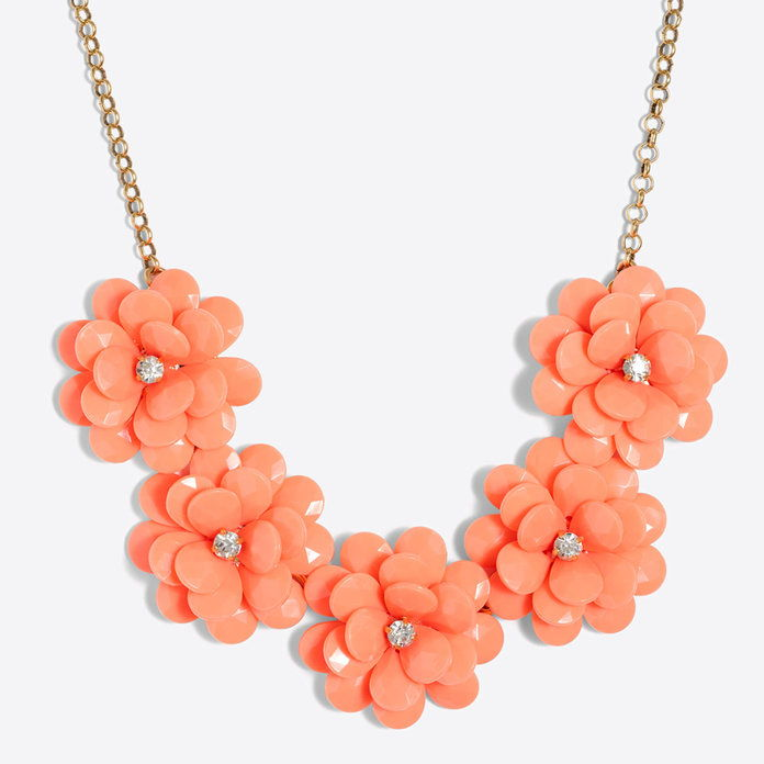 J. Crew Floral Burst Necklace