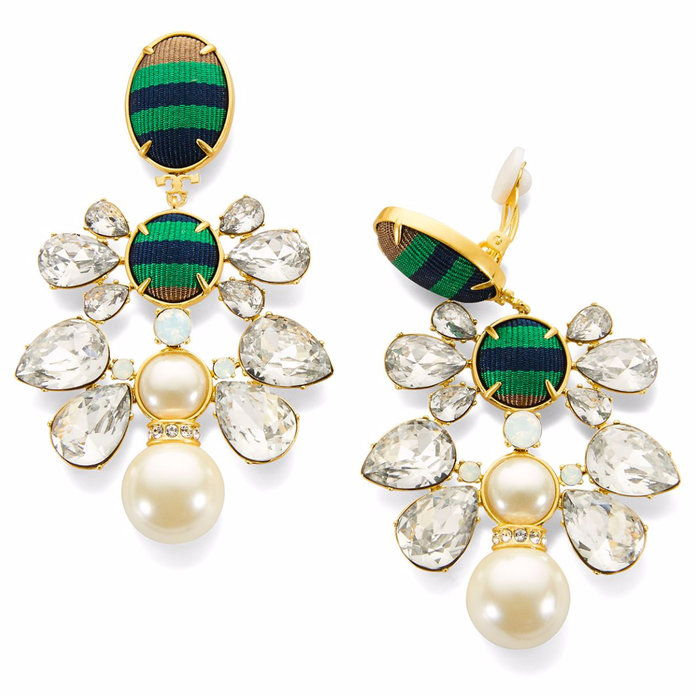 Риббон Pearl Statement Earring