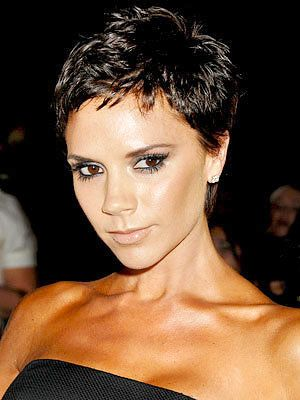 Звезда Cuts That Work For You, Pixie Cut, Victoria Beckham