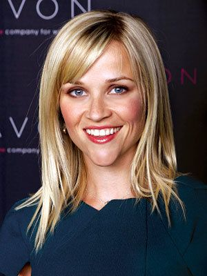 Звезда Cuts That Work For You, Long Layers with Bangs, Reese Witherspoon
