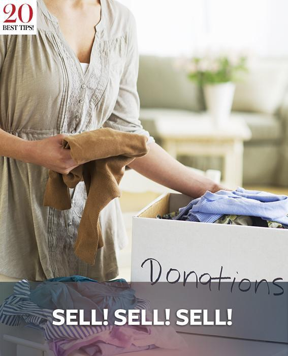 20 Tips Organizing Your Closet - SELL! SELL! SELL!