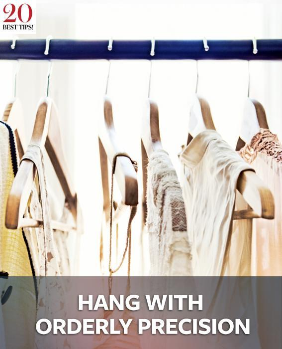 20 Tips Organizing Your Closet - HANG WITH ORDERLY PRECISION