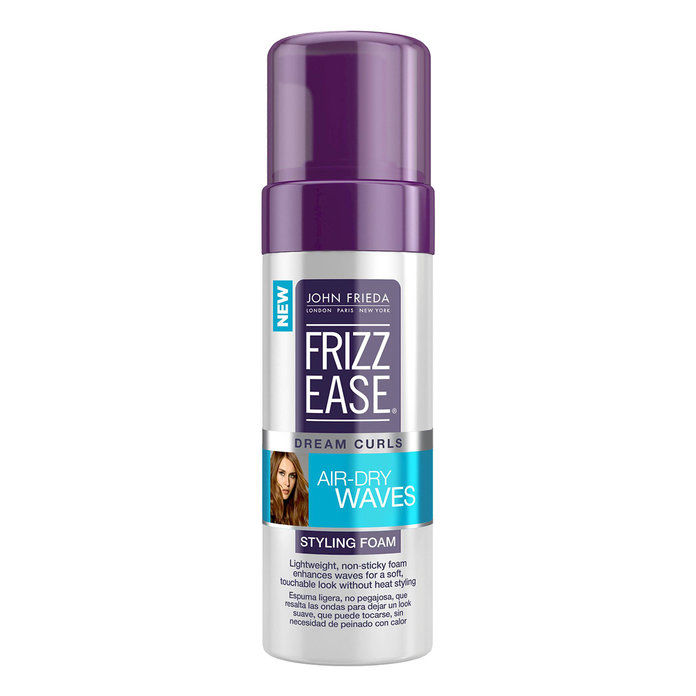 Влазно Hair: John Frieda Frizz Ease Dream Curls Air-Dry Waves Styling Foam