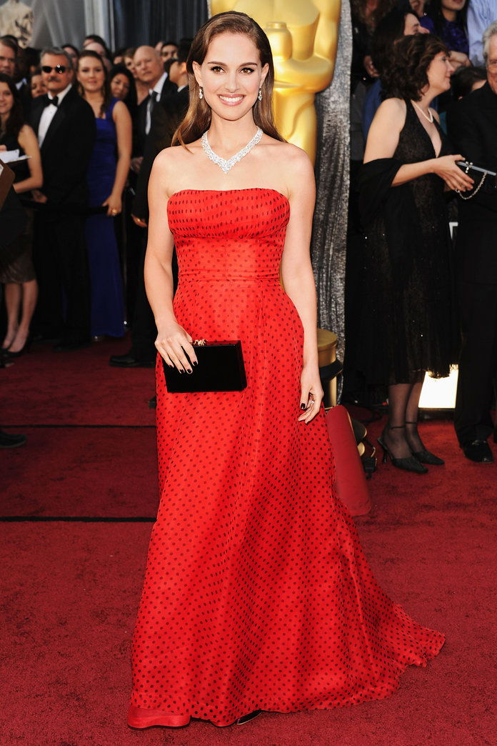 Ин Dior Haute Couture at the Academy Awards in L.A. (2012)