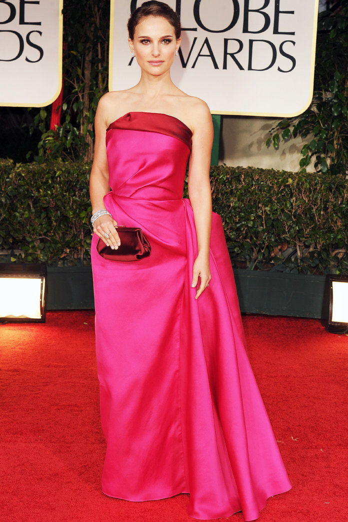 Ин Lanvin at the Golden Globe Awards in L.A. (2012)