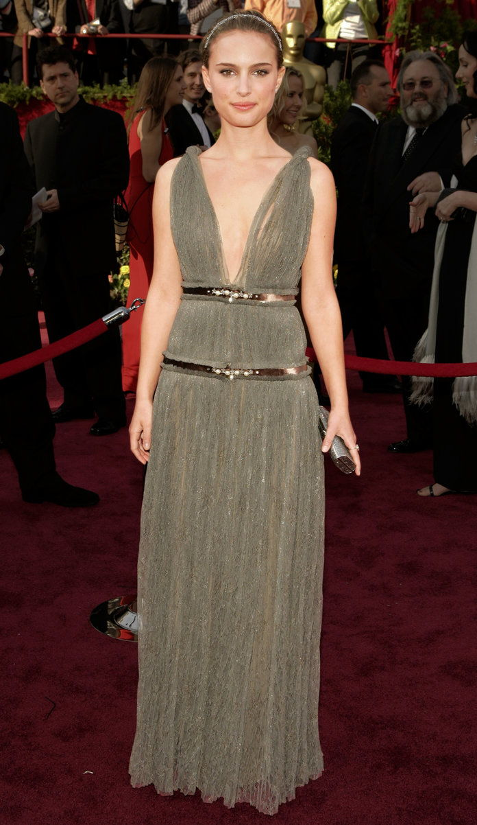 Ин Lanvin at the Academy Awards in L.A. (2005)